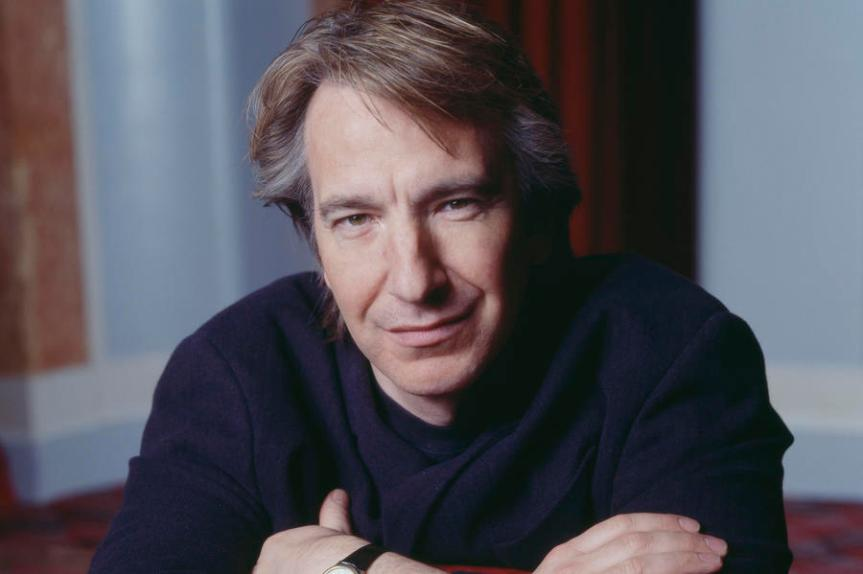 British actor Alan Rickman