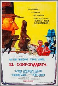 EL CONFORMISTA - Spanish Poster