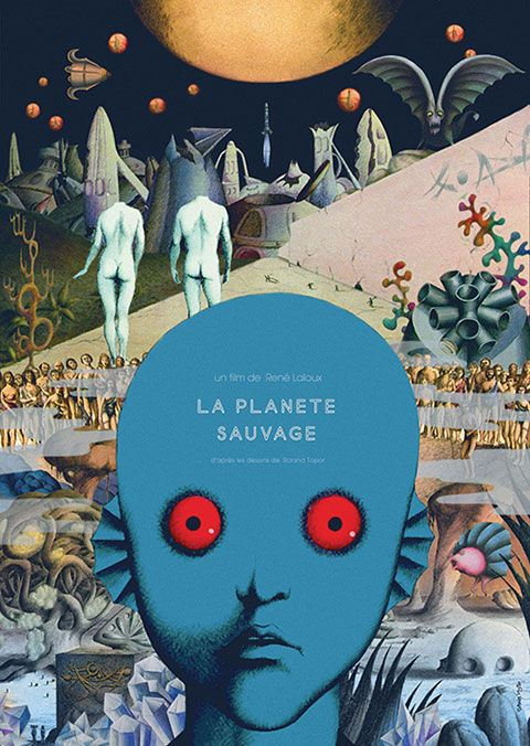 Classic French Animations Fantastic Planet 1973 And The King The Mockingbird 1980 Dbmoviesblog